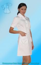 Халат-платье женский